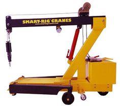 Guindastes Brasil : Smart-rig Cranes - Mini Guindastes EUA