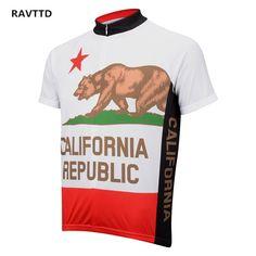 Big Discount California Men s Bike Cycling Jerseys Sportswear Breathable Cycling  Clothing Bike Bicycle Jerseys Breathable MTB d4c8bc1da