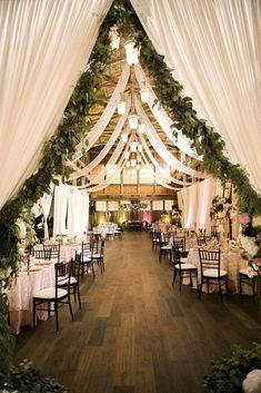 30 rustic barn wedding reception ideas with draped fabric 45 rustic wedding decorations you must have a look country barn wedding with wooden photo display Barn Wedding Decorations, Wedding Themes, Wedding Centerpieces, Ceremony Decorations, Hall Decorations, Centerpiece Flowers, Wedding Dresses, Wedding Designs, Wedding Colors
