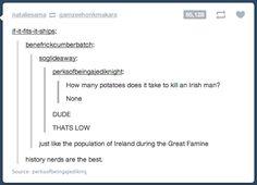 History nerds? I'm pretty sure any motherfucker gets this. Stop it America yer herten me