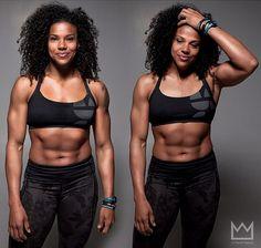 tatigetsfit:onlyfitgirls:Elisabeth Akinwale by @letsgetmadephotography#Fuh  I LOVE HER!!!