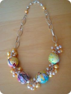 All in a Row Necklace Focal Inspirations and Tutorials - The Beading Gem's Journal