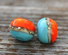 Maya Honey Handmade Lampwork Beads
