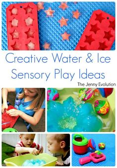 Creative Ice and Water Sensory Play Ideas and Activities | The Jenny Evolution