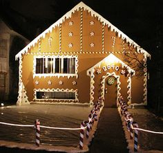 Candy cane lights solar candy cane lights candy cane rope christmas candiescandy canes lightssnow decorated over the house aloadofball Images