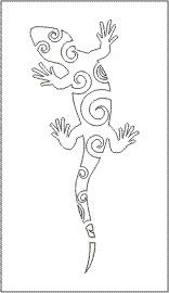 Gecko Swirl line drawing Stencil Patterns, Stencil Designs, Mosaic Patterns, Pattern Art, Quilling Patterns, Quilt Patterns, Embroidery Patterns, Animal Coloring Pages, Colouring Pages