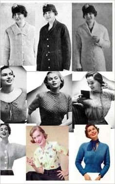Vintage Crochet Sweater Patterns - 9 Crochet Sweaters and Blouse Pattern for Sizes 12 to 20 - Kindle edition by Bookdrawer. Crafts, Hobbies & Home Kindle eBooks @ Amazon.com.