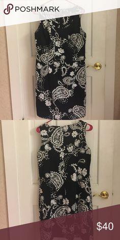 Floral Print Dress Black and White Floral Print Dress 👗 Dresses