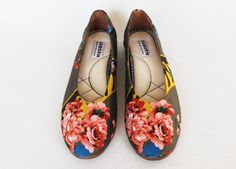 Osborn Designs floral ballerina flat - fair trade  and hand made in Guatemala