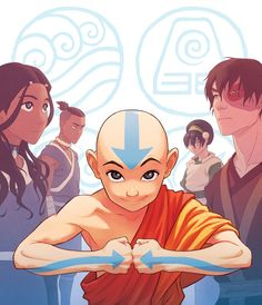 Blu-ray release of the complete Avatar: The Last Airbender series (swipe for the slipcase cover).