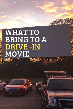 Learn more about what you need to bring to a drive in movie and how to make the most of your drive in movie car setup.