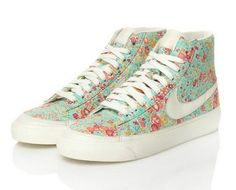 floral nikes.