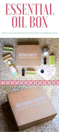 Essential Oils Subscription Box from Simply Earth is an easy way to stockpile high-quality essential oils without spending a lot of money!