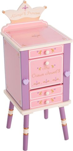 Levels of Discovery Princess Jewelry Cabinet - Kids Decorating Ideas