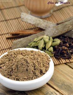 Chai ka Masala, Chai Powder, Tea Masala, Indian Masala Tea Powder recipe   Chai power , Tea Masala   by Tarla Dalal   Tarladalal.com   #4217