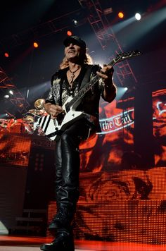 Scorpions on stage at the Zénith of Caen. The of April Quentin. Scorpions Live, Guitar Players, Rock And Roll, Stage, Punk, Concert, Rock Roll, Recital, Rock N Roll