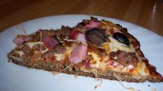 Flax Seed Pizza Crust