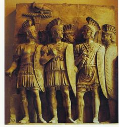 Praetorians of Augustus, 1st century AD, depicted in a marble bas-relief. The Praetorian Guard (Latin: Praetoriani) was a force of bodyguards used by Roman Emperors. The title was already used during the Roman Republic for the guards of Roman generals, at least since the rise to prominence of the Scipio family around 275 BC. The Guard was dissolved by Emperor Constantine I in the 4th century.