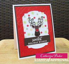 The Hip Holiday stamp set has fabulous images to make Holiday Card Making fun and easy!  Today I introduce Hip Holiday!  SQUEAL!!!!  http://catherinepooler.com/2016/09/17/traditional-and-non-traditional-christmas-cards-with-hip-holiday/