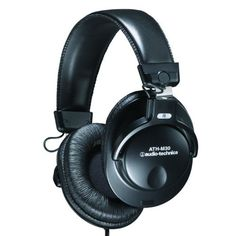 Audio-Technica Professional Studio Monitor Closed-back Dynamic Stereo Headphones (Model ATH-M30)