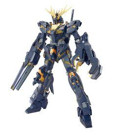 Amazon.com: Bandai RX-0 Gundam Unicorn Unit 02 Banshee 1/100 Master Grade: Toys & Games