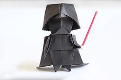 Tuto : Apprenez à plier des Origamis Star Wars