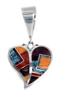 Ray Tracey Inlaid Pendant