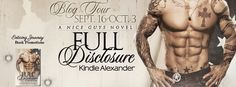 Renee Entress's Blog: [Blog Tour, Review & Giveaway] Full Disclosure by ... http://reneeentress.blogspot.com/2014/09/blog-tour-review-giveaway-full.html