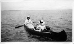 free vintage canoeing images - Google Search