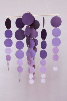 Easy Ombre!  Use paint chips to create any master piece.  Can't miss on the color blending.  The chips do it for you!  BrightNest