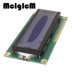 Mcigicm 2 шт. 5 В ЖК 1602 синий экран персонажа ЖК-дисплей Дисплей Модуль синий Blacklight Новый и белый код Лидер продаж Бесплатная доставка