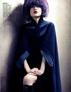 Eye Candy : Du Juan for Vogue China Supplement | rolala loves