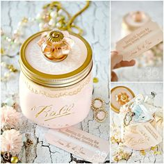 Mason Jar Bride Gift