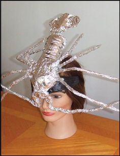 Upcycled Lady Gaga Lobster Hat