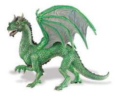Love dragons. Especially green ones!