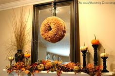 Under The Table and Dreaming: Fall & Halloween Ideas & Projects {Sunday Showcase Features} & Barn Owl Primitives Giveaway Reminder