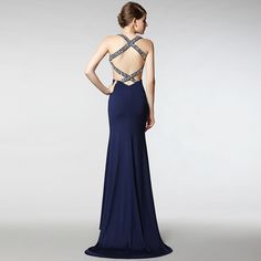Fabrics: 90%polyester + 10%spandex(with flexibility)  Color:dark blue  Size: M         bust size     waist size    hip size  M    78-89cm       59-70cm    85-94cm    Below is the size of our model whom is suitable for size M for your reference:  waist size:61cm  bust size:86cm  hip size:91cm  hei...