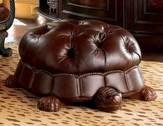 Turtle Foot stool http://www.drlima.net