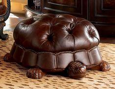 Turtle Foot stool http://www.drlima.net