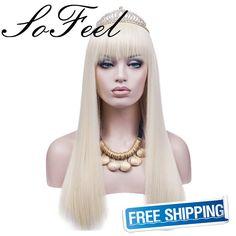 $16.55 (Buy here: https://alitems.com/g/1e8d114494ebda23ff8b16525dc3e8/?i=5&ulp=https%3A%2F%2Fwww.aliexpress.com%2Fitem%2FSofeel-Cosplay-Wig-Women-s-Long-Straight-Hair-Wigs-Cosplay-Party-Costume-Synthetic-Fiber-Heat-Resistant%2F32669449655.html ) Sofeel Cosplay Wig Women's Long Straight Hair Wigs  Cosplay Party Costume-Synthetic Fiber Heat Resistant-60cm (Light Blonde) for just $16.55