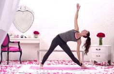 A 17-Minute Yoga Routine to Strengthen Legs, Arms, and Core - For Morning or Night