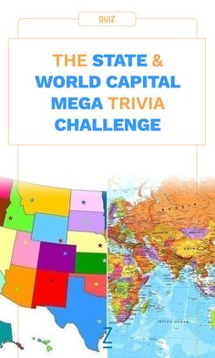 Are you a geography expert? Test your knowledge with our state and world capital mega quiz!