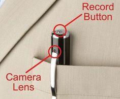 Pen- camera & recorder New Technology Gadgets 2013