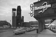 Breitscheidtplatz mit Baustelle Turm Gedächtniskirche, 1961