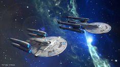 My-Rho's DeviantArt Gallery Star Trek Actors, Trek Deck, Starfleet Ships, Space Fighter, Spaceship Art, Star Trek Starships, Fantasy Concept Art, Sci Fi Ships, Star Wars