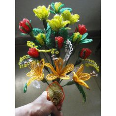 Special Beeded Bouquet which will never die and will always be fresh. $20