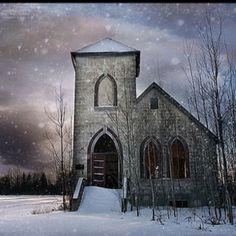 Church somewhere in Saskatchewan!