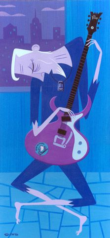 Josh Agle, Old Guitarist