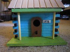 Popsicle Stick House | Popsicle Stick Bird House