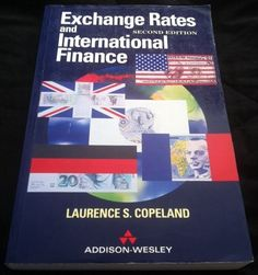 Exchange Rates and International Finance by Laurence Copeland (1994, Paperback)